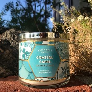 Coastal Capri candle bath And Body works